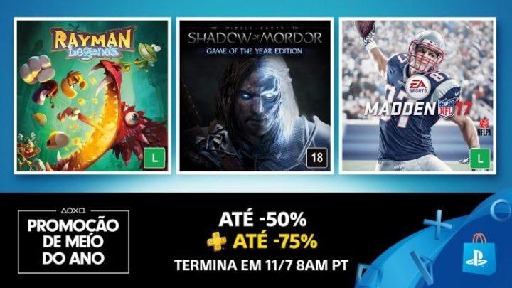 PS Plus Meio de ano promo 720x405 - PS Plus de julho terá Until Dawn gratuito e promoções com até 80% OFF