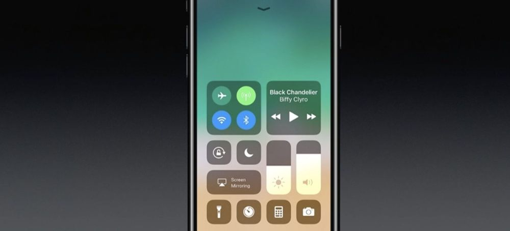 WWDC 2017 redesigned control center - 5 novidades do iOS 11 que a Apple não mostrou no evento