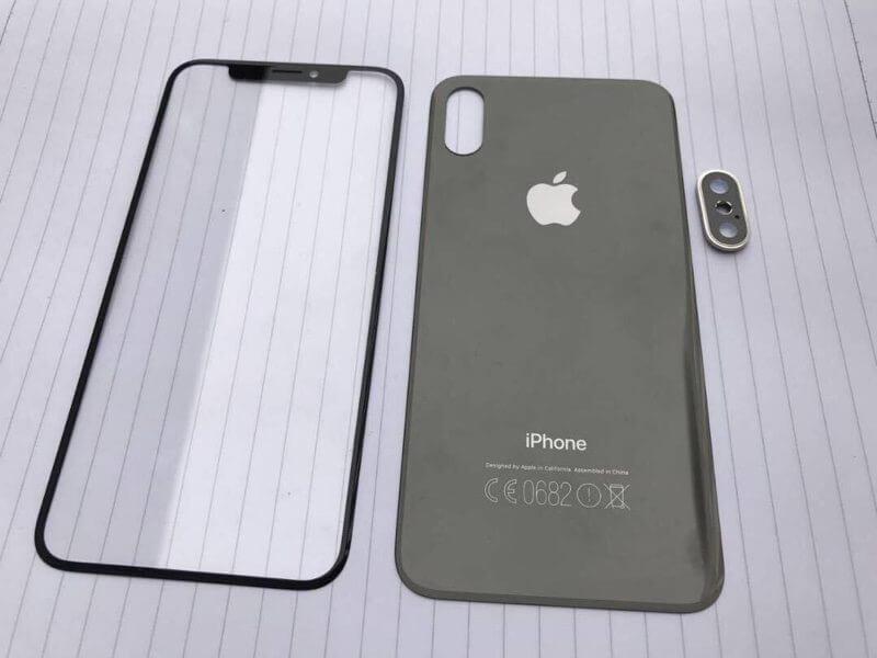 frontpanels1 800x600 - Novas imagens mostram como deve ser o iPhone 8