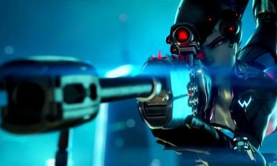 690650 - Jogador usa baguete para jogar Overwatch