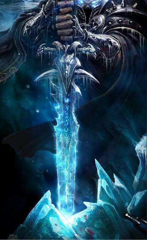 Frostmourne 1 - 10 espadas que marcaram época na história dos games