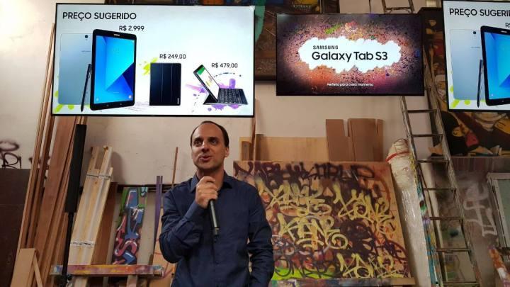 WhatsApp Image 2017 07 13 at 10.47.56 720x405 - Galaxy Tab S3: novo tablet 'premium' da Samsung é lançado no Brasil