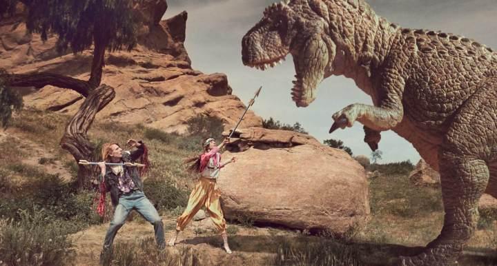 atacando dinossauro campanha