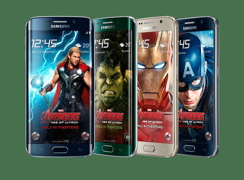 Imagens do Samsung Galaxy S6
