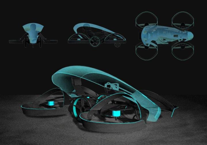 skydrive img 720x504 - Japoneses querem acender tocha olímpica com carro voador