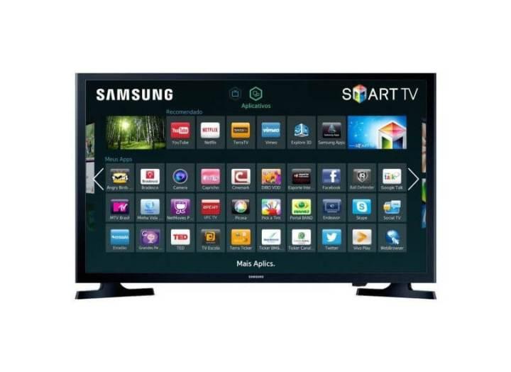 smart tv tv led 32 samsung serie 4 netflix un32j4300 2 hdmi photo41770754 12 3c 10 720x524 - Fim do sinal analógico aumenta procura por Smart TVs; confira as mais buscadas