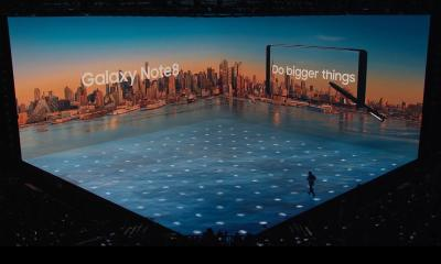 Samsung lança Galaxy Note 8 em evento global
