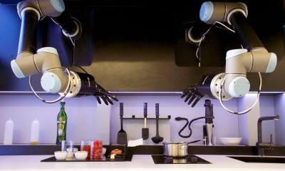Robô cozinheiro pode ganhar o MasterChef