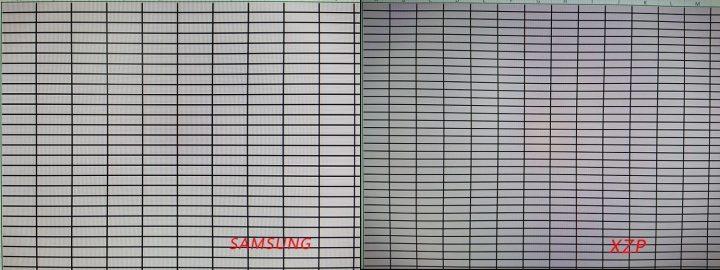 Xperia XZ Premium camera distortion Samsung grid 720x270 - Review: Sony Xperia XZ Premium, a última palavra em performance