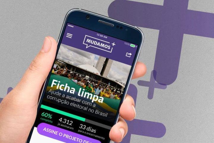 app celular mudamos ficha limpa