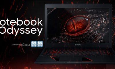samsung odyssey i7 capa - Review: Samsung Odyssey, o notebook gamer com placa de vídeo de desktop