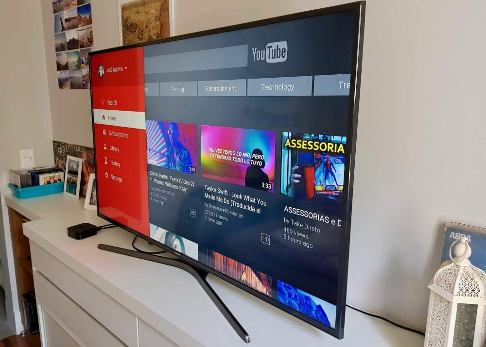 Review: Samsung Smart TV UHD 55