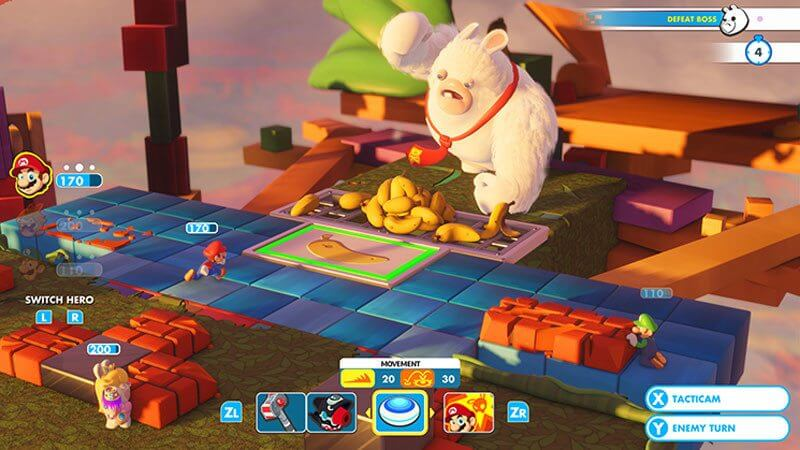 225660 screenshot 04 l - Review: Mario + Rabbids Kingdom Battle para Nintendo Switch