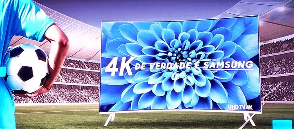 4k de verdade - Samsung e SporTV firmam parceria para transmissão de jogos em 4K