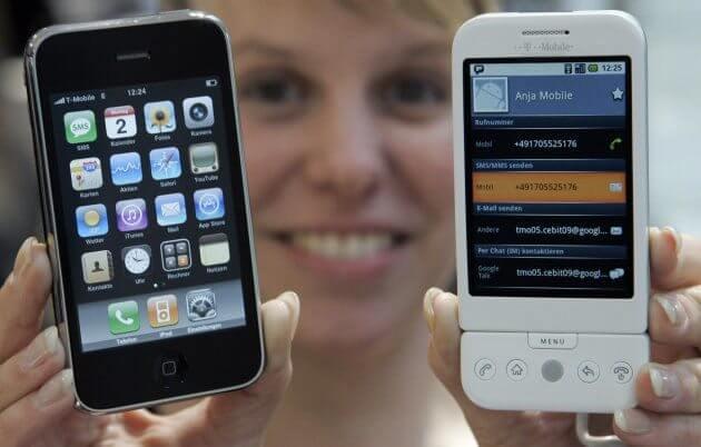 85172761 - 9 anos de Android: como as telas mudaram o smartphone para sempre