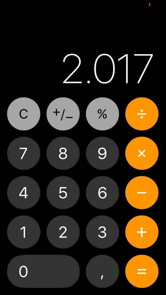 Calculadora - Novo iOS 11 chega dia 19 de setembro: conheça as novidades