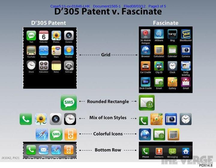 D305 patent at 765px 720x560 - 9 anos de Android: como as telas mudaram o smartphone para sempre
