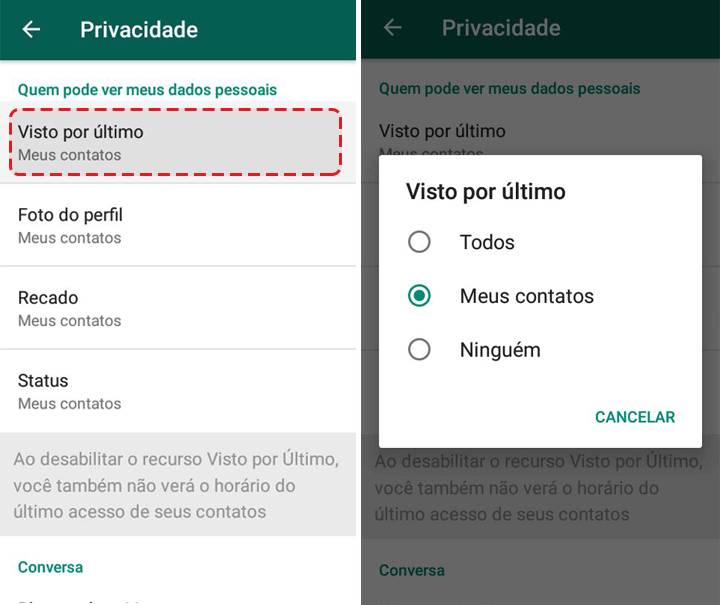 Showmetech tutorial whatsapp configuracoes de privacidade acessando itens de privacidade e seguranca 04 1 720x605 - Tutorial: como manter a privacidade no WhatsApp, sem perder a graça.