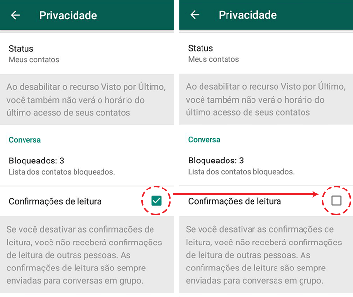 Showmetech tutorial whatsapp configuracoes de privacidade acessando itens de privacidade e seguranca 10 1 720x605 - Tutorial: como manter a privacidade no WhatsApp, sem perder a graça.