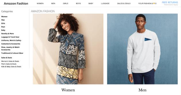 amazon fashion - Cada vez mais fashion: Inteligência Artificial vai criar e lançar tendências