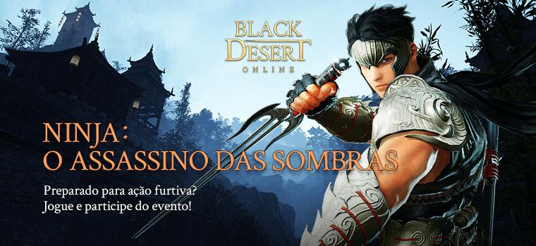 black desert ninja evento - Black Desert agora aceita pagamentos in-game via BoaCompra, de boleto a transferência