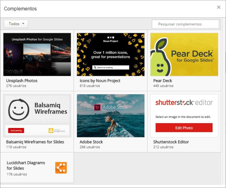google slides complementos 720x600 - Google Slides ganha novos recursos para aumentar sua produtividade