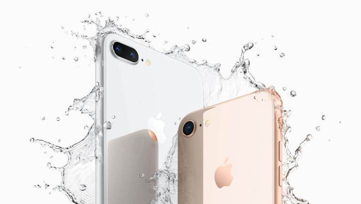 iPhone8Plus iPhone8 water 2 720x407 - iPhone X: confira tudo o que a Apple lançou nesta terça-feira