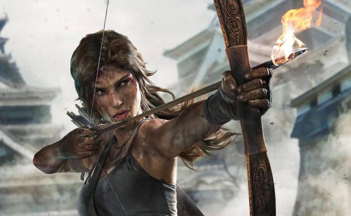 lara bow napalm trde 720x444 - 'Tomb Raider: A Origem' tem seu primeiro trailer divulgado