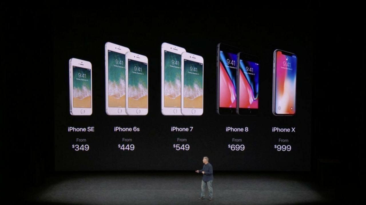 preços iphone 8 - Apple anuncia novos iPhone 8 e iPhone 8 Plus