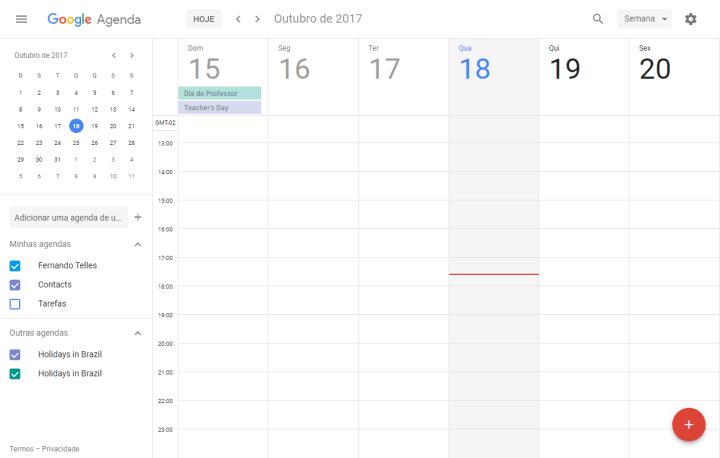 Google Agenda ganha nova interface; Saiba como ativar; google calendar