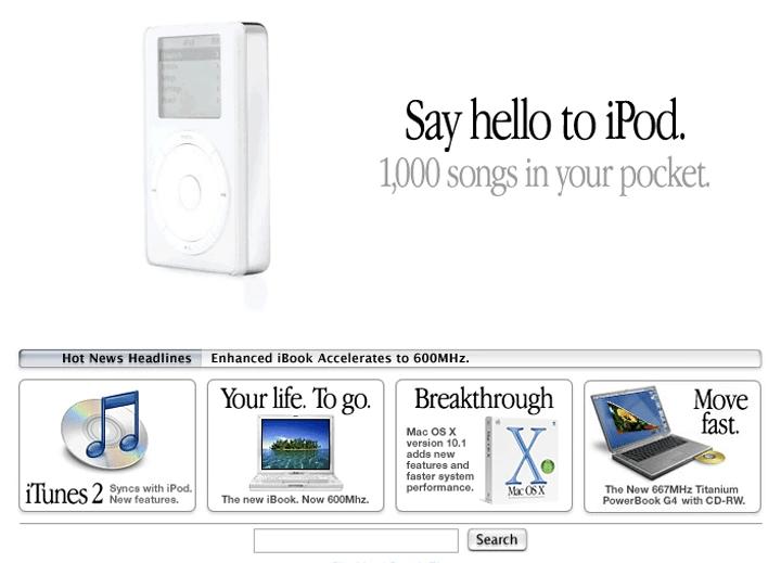Showmetech 10 gadgets que mudaram o mundo primeiro ipod 720x519 - 10 gadgets que mudaram o mundo