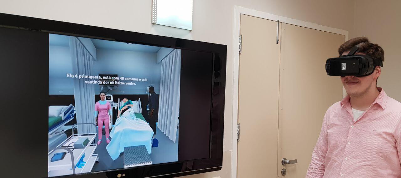 Samsung aposta em VR na saúde em parceria com Albert Einstein / Parto Adequado