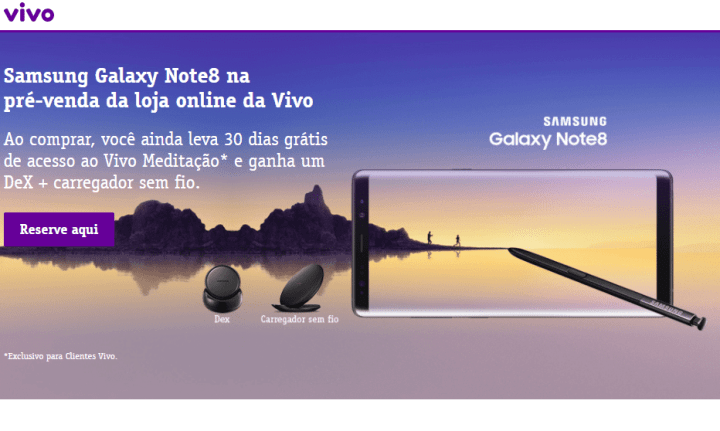 Vivo Galaxy Note 8 1 720x431 - Vivo inicia pré-venda do Samsung Galaxy Note 8