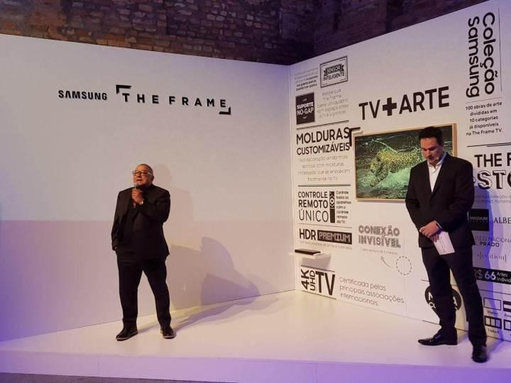 WhatsApp Image 2017 10 03 at 20.19.51 720x540 - The Frame: Samsung anuncia Smart TV como obra de arte