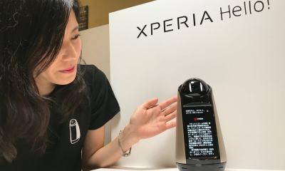 aaaaa - Xperia Hello: o novo robô da Sony quer fazer parte da sua família