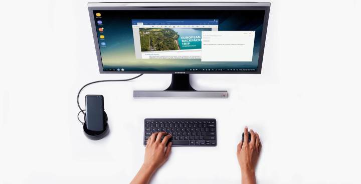 dex 720x368 - Samsung DeX Station agora poderá rodar Windows