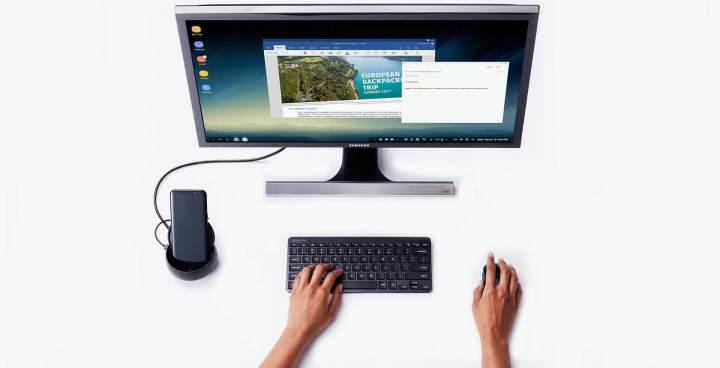 dex 720x368 - Samsung DeX Station agora poderá rodar Windows