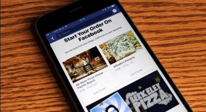 facebook 720x392 - Usuários nos EUA agora podem pedir comida pelo Facebook