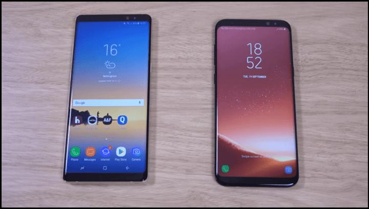Teste de velocidade: Galaxy Note 8 x Galaxy S8 Plus 4