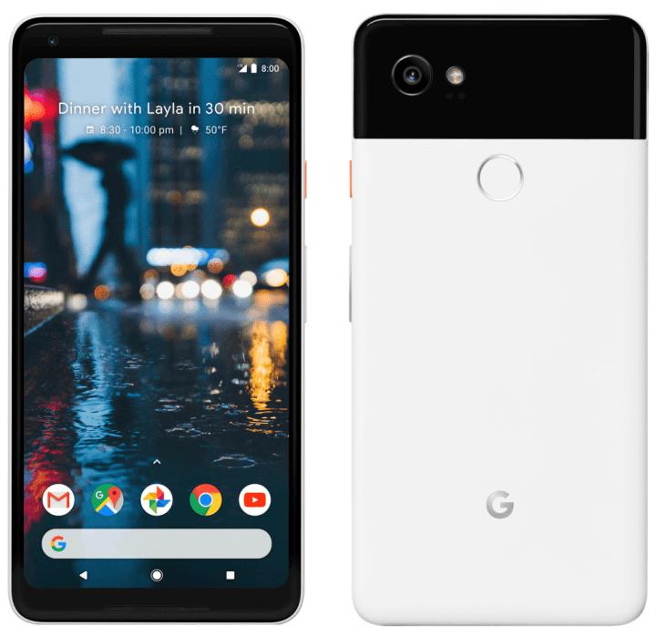 google pixel 2 xl 720x698 - Novas imagens do Google Pixel 2 e Pixel 2 XL vazam às vésperas do lançamento