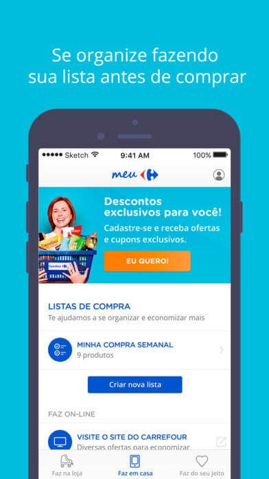 meu carrefou 07 - Carrefour lança plataforma mobile de benefícios e e-commerce