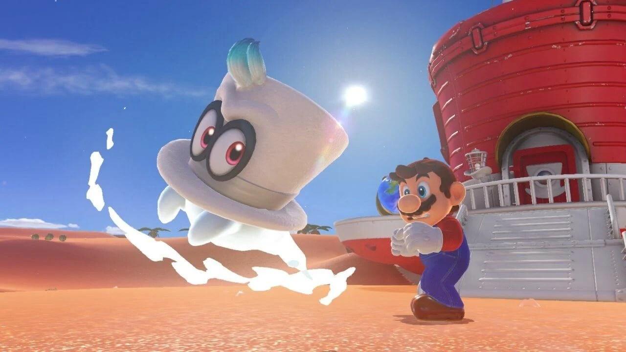 Super Mario Odyssey é lançado para o Nintendo Switch