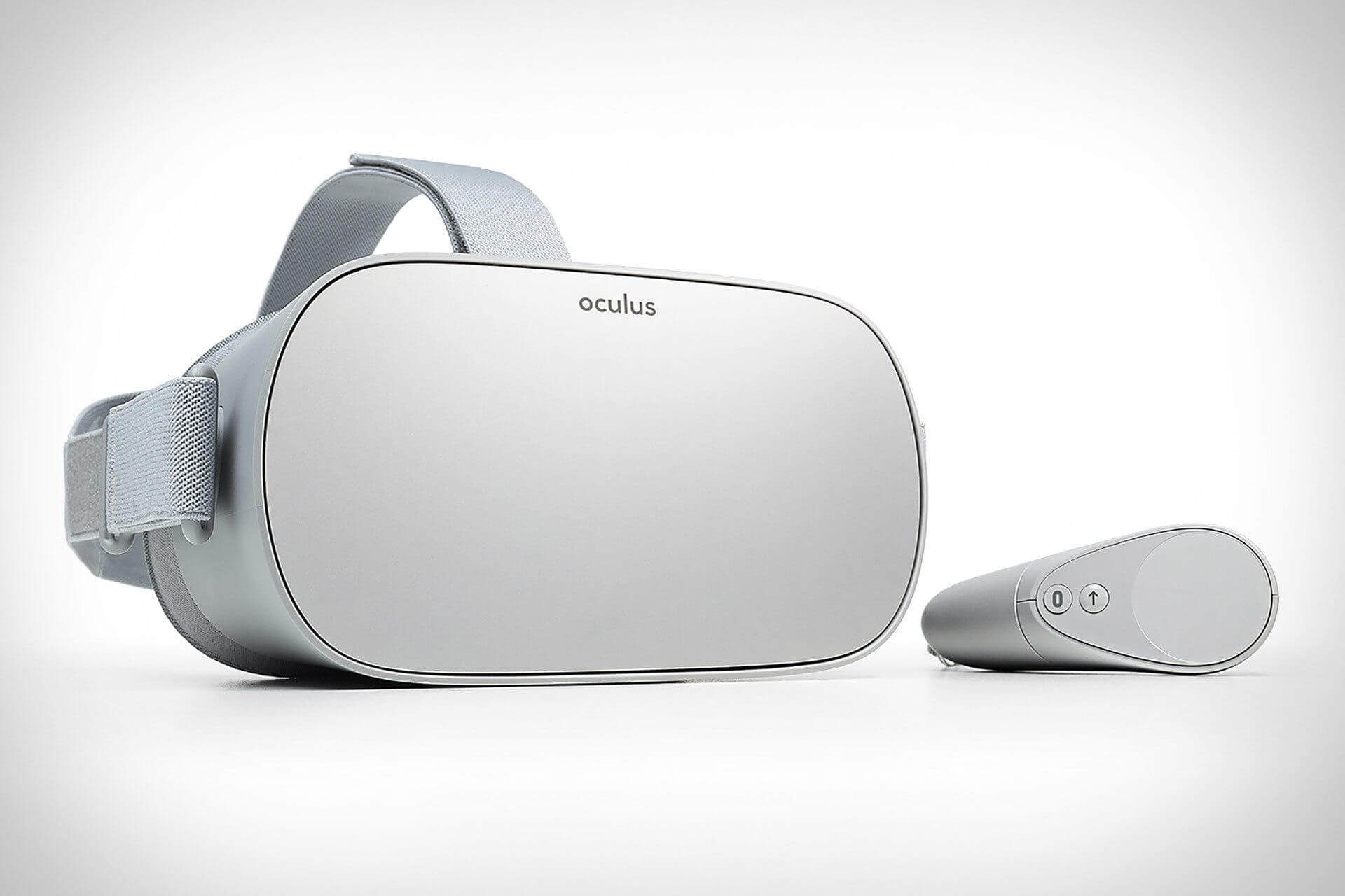 Facebook mergulha de cabeça na realidade virtual — Oculus Go autónomos