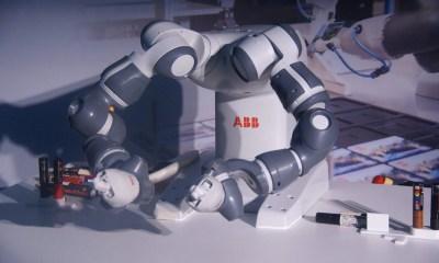 07 - ABB comemora 105 anos de Brasil com a demonstração do robô Yumi