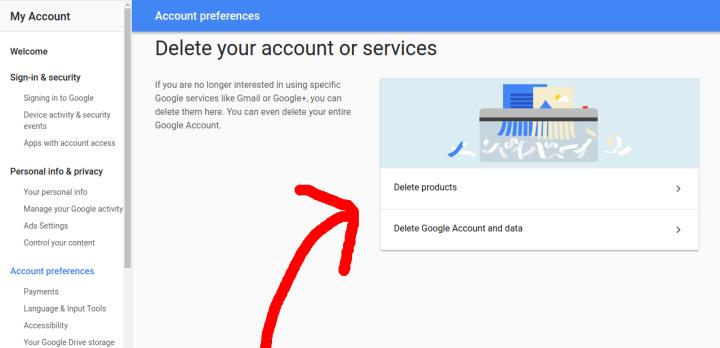 ProductsOrAccount 720x348 - Como excluir sua conta Google