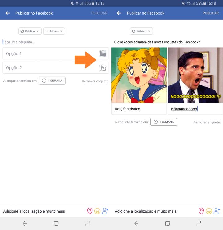 Screenshot 20171106 161608 720x740 - Facebook: como adicionar GIFs nas suas enquetes