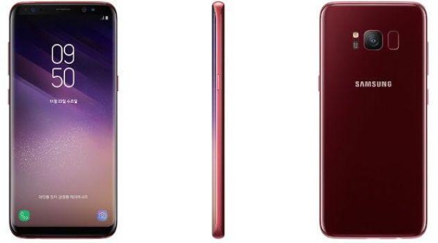 aaaaa - Samsung disponibiliza cor Vermelho Borgonha para o Galaxy S8