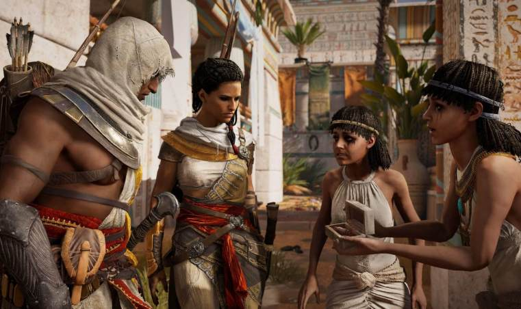 bayek and aya assassins creed origins 144 320x190 - Review: Assassin's Creed Origins é uma aventura incrível pelo Egito Antigo