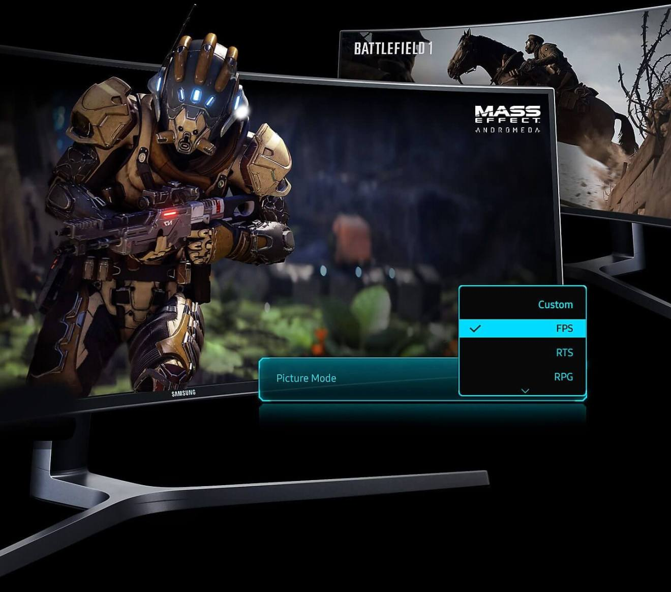 br feature dedicated for gamers 83560541 - Monitor gamer curvo QLED 32:9 da Samsung é lançado no Brasil