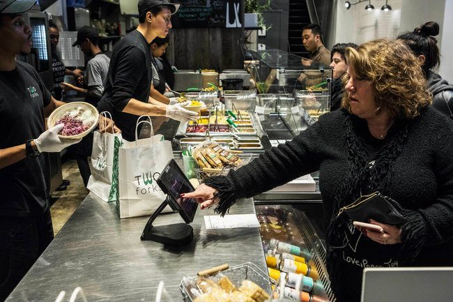 23cashless3 popup - Estes restaurantes já não querem mais saber de dinheiro de papel